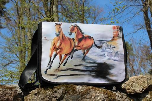 Tasche 'Pferde'