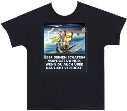 T-Shirt 'Schatten/Licht'