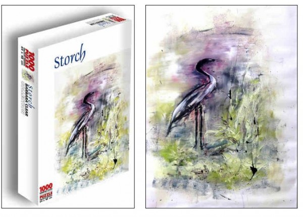 Puzzle Storch